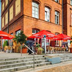 Café Außenbereich / Terrasse