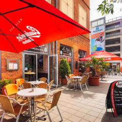 Café Außenbereich - Terrasse